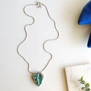 Jewelry - Iridescent Pendant Necklace